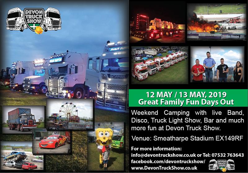Devon Truck Show A5 Flyer  - Devon Truck Show A5 Flyer - Home