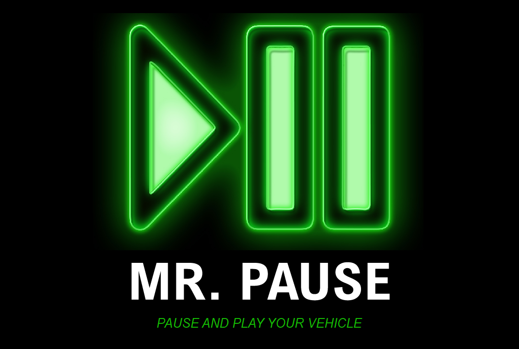 Mr. Pause Business Card - Front  - Mr - Home