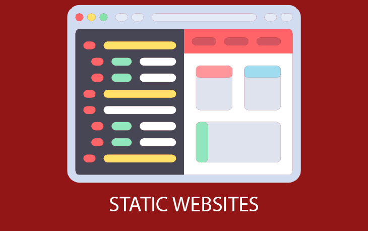 a static website - static website 730x458 - A Static Website